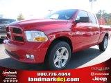 2012 Flame Red Dodge Ram 1500 Express Quad Cab #56013610