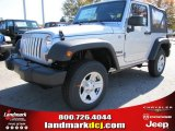 2012 Bright Silver Metallic Jeep Wrangler Sport 4x4 #56013596
