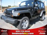 2012 Black Jeep Wrangler Sport 4x4 #56013595