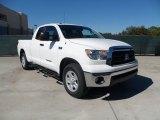 2012 Super White Toyota Tundra SR5 Double Cab 4x4 #56087146
