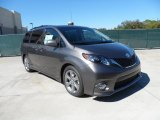 2012 Toyota Sienna SE Data, Info and Specs