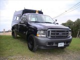 True Blue Metallic Ford F250 Super Duty in 2003