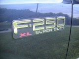 2003 Ford F250 Super Duty XL Regular Cab Marks and Logos