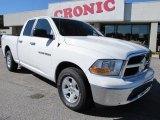 2011 Bright White Dodge Ram 1500 SLT Quad Cab #56087111