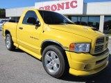 2004 Solar Yellow Dodge Ram 1500 SLT Rumble Bee Regular Cab #56087107