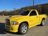 2005 Solar Yellow Dodge Ram 1500 SLT Rumble Bee Regular Cab 4x4 #56087101