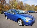 2003 French Blue Metallic Ford Focus SE Sedan #56087081