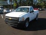 2012 Summit White Chevrolet Silverado 1500 Work Truck Regular Cab #56087433