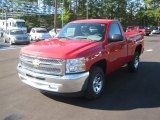 2012 Victory Red Chevrolet Silverado 1500 LS Regular Cab #56087431