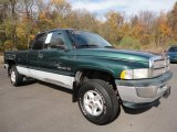 1998 Emerald Green Pearl Dodge Ram 1500 Laramie SLT Extended Cab 4x4 #56087077