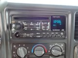 2001 GMC Sierra 1500 SLE Extended Cab 4x4 Audio System