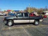 2004 Dark Gray Metallic Chevrolet Silverado 1500 LS Extended Cab 4x4 #56087412