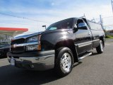 2004 Black Chevrolet Silverado 1500 LS Regular Cab 4x4 #56087045