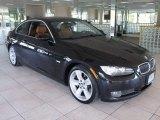 2008 Jet Black BMW 3 Series 335xi Coupe #56087747