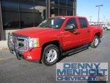 2008 Victory Red Chevrolet Silverado 1500 LT Crew Cab 4x4 #56087383