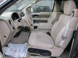 2005 Ford F150 XLT SuperCab 4x4 Tan Interior