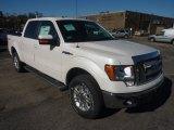 2011 White Platinum Metallic Tri-Coat Ford F150 Lariat SuperCrew 4x4 #56086993