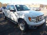 2011 Oxford White Ford F150 Lariat SuperCrew 4x4 #56086992