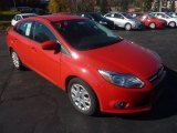 2012 Race Red Ford Focus SE Sedan #56086986