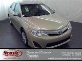 2012 Sandy Beach Metallic Toyota Camry LE #56087370