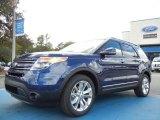 2012 Ford Explorer Dark Pearl Blue Metallic