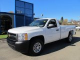 2012 Summit White Chevrolet Silverado 1500 Work Truck Regular Cab 4x4 #56086941