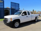 2012 Summit White Chevrolet Silverado 1500 Work Truck Extended Cab 4x4 #56086940