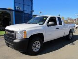 2012 Summit White Chevrolet Silverado 1500 Work Truck Extended Cab 4x4 #56086939