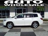 2010 Blizzard White Pearl Toyota Highlander Limited #56087310