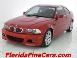 2002 Electric Red BMW 3 Series 325i Coupe #5601179