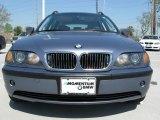 2002 Steel Blue Metallic BMW 3 Series 325xi Wagon #5612454