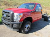 2012 Ford F350 Super Duty XL Regular Cab 4x4 Chassis Data, Info and Specs