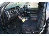 2012 Toyota Tundra SR5 Double Cab 4x4 Black Interior