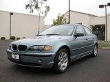 2005 Gray Green Metallic BMW 3 Series 325i Sedan #5598575