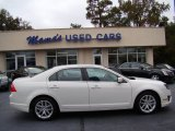 2010 White Suede Ford Fusion SEL #56087225