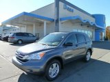 2011 Polished Metal Metallic Honda CR-V EX 4WD #56156591