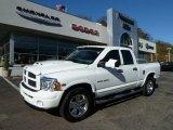 2004 Bright White Dodge Ram 1500 Laramie Quad Cab 4x4 #56156434