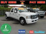 2005 Oxford White Ford F350 Super Duty Lariat Crew Cab Dually #56156587