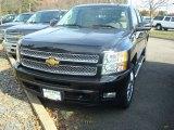 2012 Black Chevrolet Silverado 1500 LTZ Crew Cab 4x4 #56156226