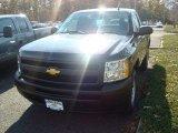 2012 Black Chevrolet Silverado 1500 Work Truck Regular Cab 4x4 #56156219
