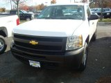 2012 Summit White Chevrolet Silverado 1500 Work Truck Regular Cab 4x4 #56156206