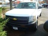 2012 Summit White Chevrolet Silverado 1500 Work Truck Extended Cab 4x4 #56156203