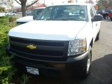 2012 Summit White Chevrolet Silverado 1500 Work Truck Extended Cab 4x4 #56156200