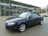 2008 Moro Blue Pearl Effect Audi A4 2.0T quattro Cabriolet #56156393