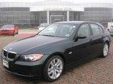 2007 Deep Green Metallic BMW 3 Series 328i Sedan #5612424