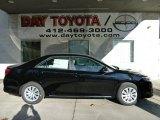 2012 Attitude Black Metallic Toyota Camry LE #56156314