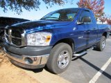 2008 Electric Blue Pearl Dodge Ram 1500 SXT Regular Cab #56189006