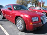 2009 Chrysler 300 Inferno Red Crystal Pearl