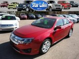 2010 Sangria Red Metallic Ford Fusion SE V6 #56189446