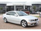 2006 Titanium Silver Metallic BMW 3 Series 325i Coupe #56189220
